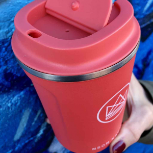 Κούπα καφέ Neon Kactus από ανοξείδωτο ατσάλι