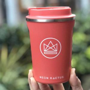 Οικολογικό ποτήρι καφέ Neon Kactus