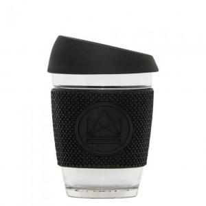 Γυάλινη κούπα καφέ Neon Kactus Rock Star