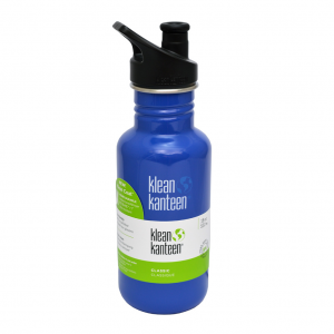 Ανοξείδωτο παγούρι Klean Kanteen 532ml Classic Sport Cap Coastal waters