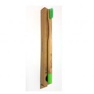 Μπαμπού Οδοντόβουρτσα BeMyFlower Soft Πράσινη