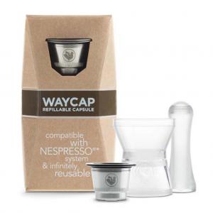 nespresso καψουλες μεταλλικες waycap