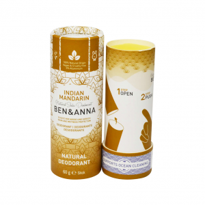 Φυσικό αποσμητικό Ben & Anna 60gr Indian Mandarine