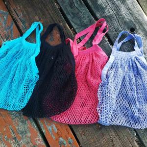 τσάντα δίχτυ από οργανικό βαμβάκι ecodis