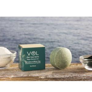 zero waste και vegan στερεο σαμπουαν vis olivae