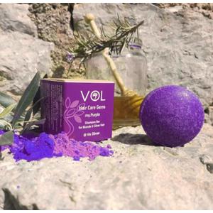 στερεο σαμπουάν vis olivae my purple