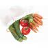 Σακούλες  Φρούτων Λαχανικών Ah-Table Σετ 5 τεμ (L) από Βιολογικό Βαμβάκι